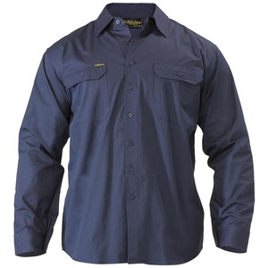 Cool Lightweight Drill Shirt - Long Sleeve