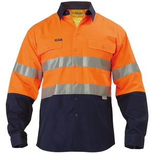 3M Taped Hi Vis Drill Shirt - Long Sleeve