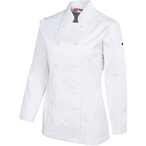 JB's Ladies L/S Vented Chefs Jacket