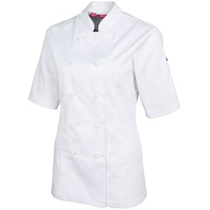 JB's Ladies S/S Vented Chef'S Jacket