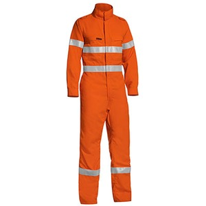 Tencate Tecasafe® Plus Taped Hi Vis Overall - Stout