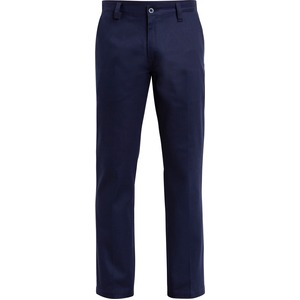 Cotton Drill Flat Front Work Pant - Stout