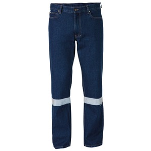 3M Taped Industrial Work Denim Jean - Long