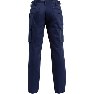 Cotton Drill Cargo Work Pant - Stout