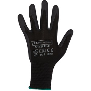 JB's Black Nitrile Glove (Per Pack Of 12)