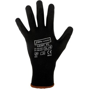 JB's Black Light Pu Glove (Per Pack Of 12)