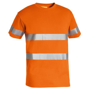 3M Taped Hi Vis Cotton T-Shirt - Short Sleeve