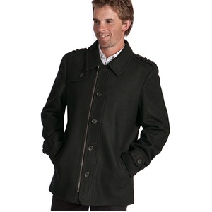 Mens City Wool Coat