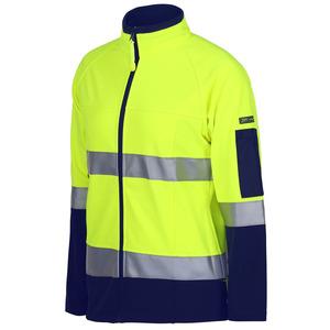 JB's Ladies Hi-vis D+N Softshell Jkt 3M Tape