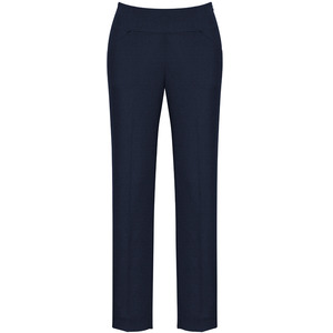 Ladies Bandless Slim Leg Pant