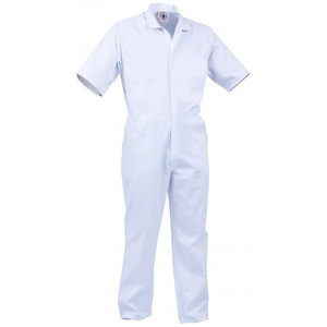 TWZ 240g PC nylon zip S/S Food Overall