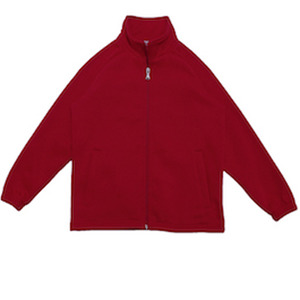 Kids Poly/Cotton Fleece Zip Through Jacket