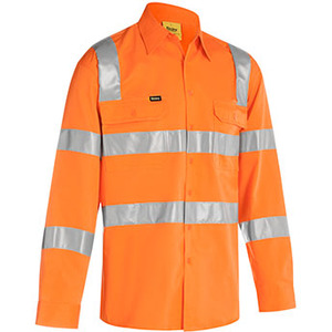 Taped Biomotion Cool Lightweight  Hi Vis  Shirt - Long Sleeve