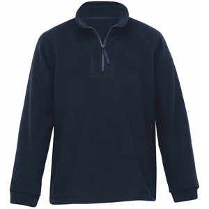 Detailed Polar Fleece Pullover
