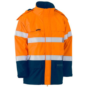 Taped Hi Vis FR Wet Weather Shell Jacket