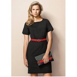 Ladies S/Sleeve Shift Dress