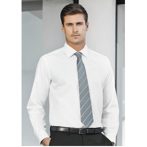 Mens Single Contrast Stripe Tie