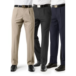 Classic Mens Pleat Front Pant