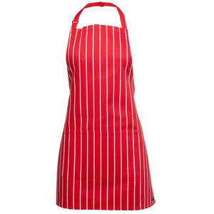 JB's 65X71 Short Striped Bib Apron