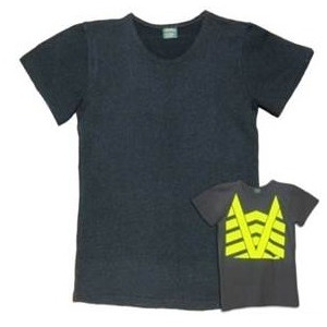 Hi Vis Fuoro Wool Tee with reflective tape