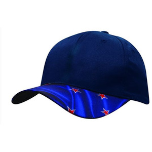6PNL NZ Flag Peak Breathable P/Twill Cap