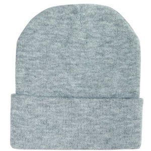Knitted Acrylic Marle Beanie