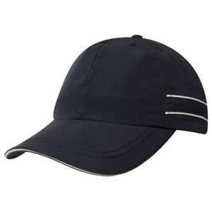 Microfibre Cap w/- Piping & Sandwich