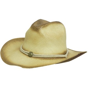 Sprayed Cowboy Hat w/- String Band