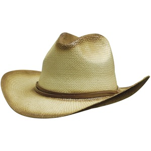 Sprayed Cowboy Hat w/- Leather Band