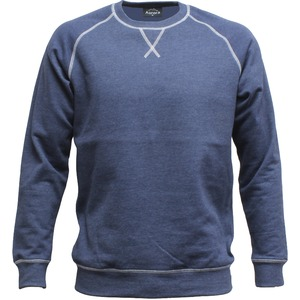Two Tone Crew Sweat Shirt