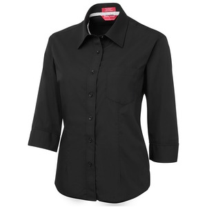 Ladies Contrast Plaquet Shirt