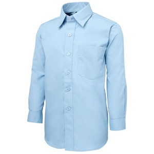 JB's Kids Poplin Shirt - Long Sleeve