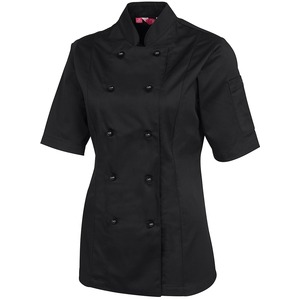JB's Ladies Short Sleeve Chefs Jacket
