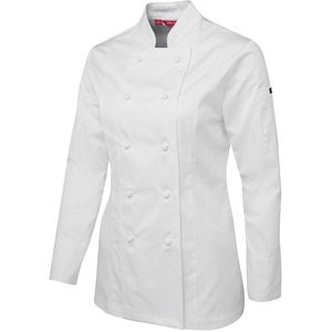 JB's Ladies Long Sleeve Chefs Jacket