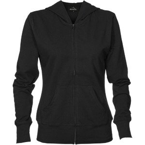 Womens Lightweight Stretch Zip Hoodie