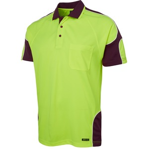 JB's Hi Vis 4602.1 Short Sleeve Arm Panel Polo