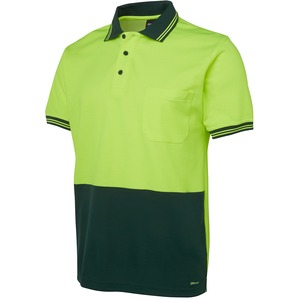 JB's Hi Vis Cotton Back Polo - Short Sleeve