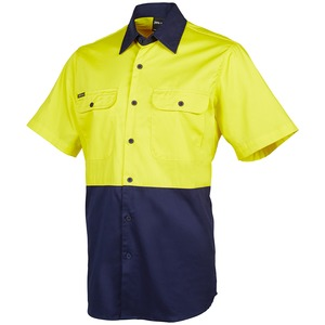 JB's Hi Vis 150G Short Sleeve Shirt