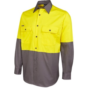 JB's Hi Vis 150G Long Sleeve Shirt