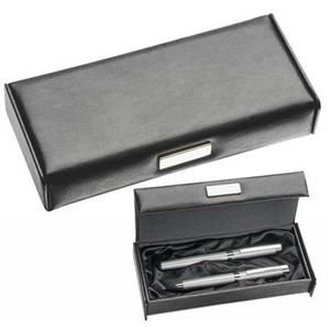 Leather Look Pen Box