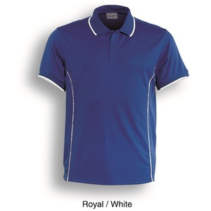 Mens Stitch Feature Essentials Short Sleeve Polo