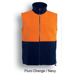 Hi-Vis Polar Fleece Vest