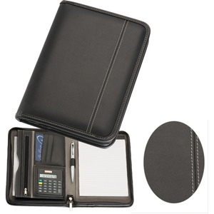 A5 ZippeRed Compendium with Calculator