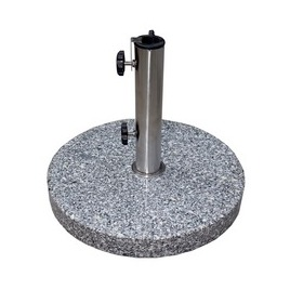 Base - 40Kg Granitee with stainless steel stem & wheels