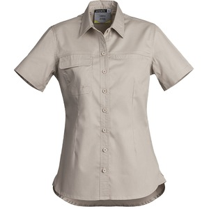 Ladies Light Weight Tradie Shirt - S/Sleeve