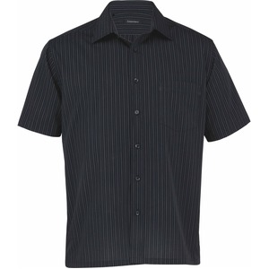 The Omega Stripe Short Sleeve Shirt - Mens