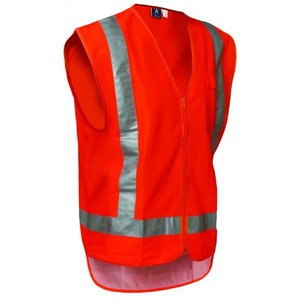 Protex D/N Polyester Vest - Zipped