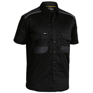 Flex & Move™ Mechanical Stretch Shirt  - Short Sleeve