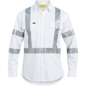 3M Taped Night Cotton Drill Shirt - Long Sleeve